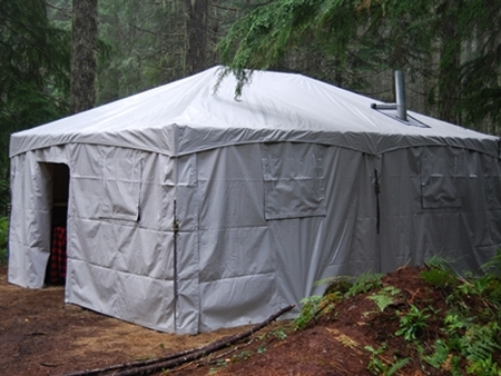 15 Ft x 20 Ft Custom Made Hunting tent & Party Tent Rentals for Weddings u0026amp; Events Portland OR | Oregon ...