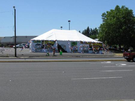 40 ft x 60 ft Rental Frame tent